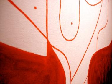 Fammi Girare | detalhes da Obra. Tela. Pintura em tinta acrilica - 100cm x 70cm